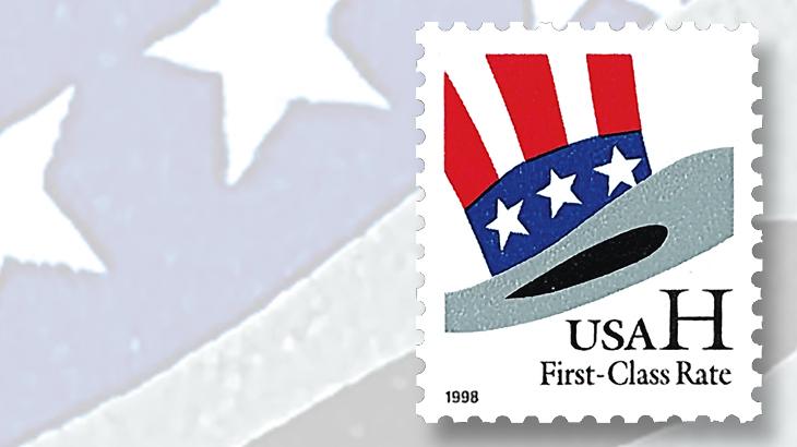 uncle-sams-hat-non-denominated-stamp