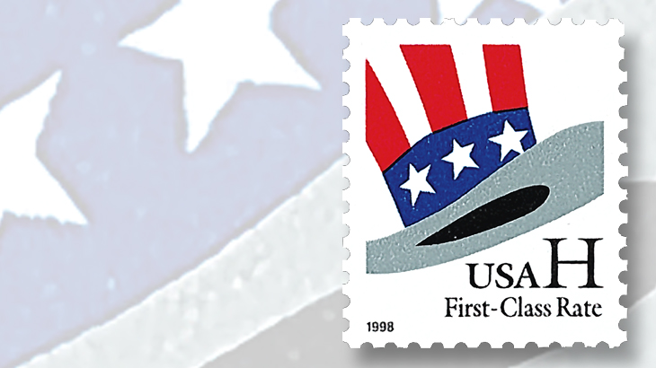uncle-sams-hat-non-denominated-stamp