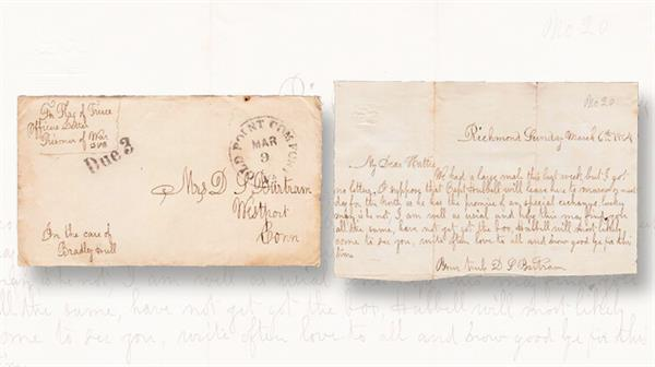union-soldier-pow-mail-cover