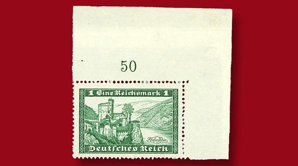 unissued-german-stamp