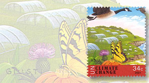 united-nations-2001-climate-change-stamp