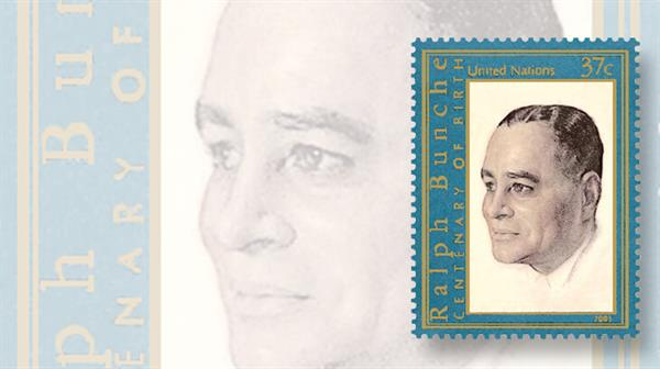 united-nations-2003-ralph-bunche-stamp