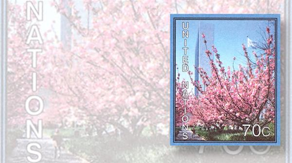 united-nations-2007-cherry-blossoms-stamp
