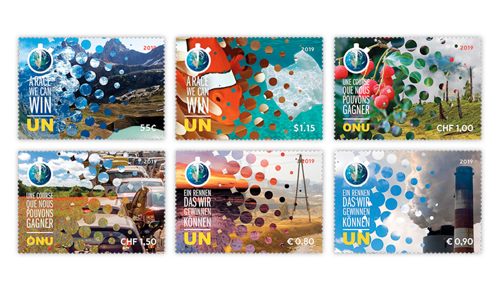 united-nations-2019-climate-action-summit-stamps