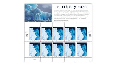 united-nations-2020-earth-day-stamp-pane-artist-zaria-forman