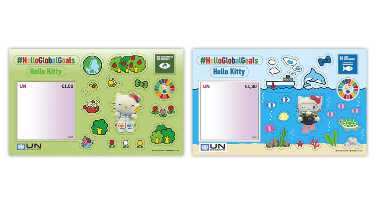 united-nations-2020-hello-kitty-climate-action-life-below-water-stamps