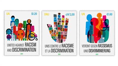 united-nations-2021-united-against-racism-discrimination-stamps