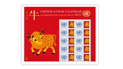 united-nations-2021-year-of-the-ox-stamp-pane