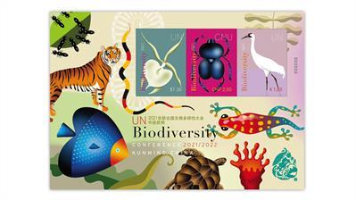 united-nations-biodiversity-conference-souvenir-sheet