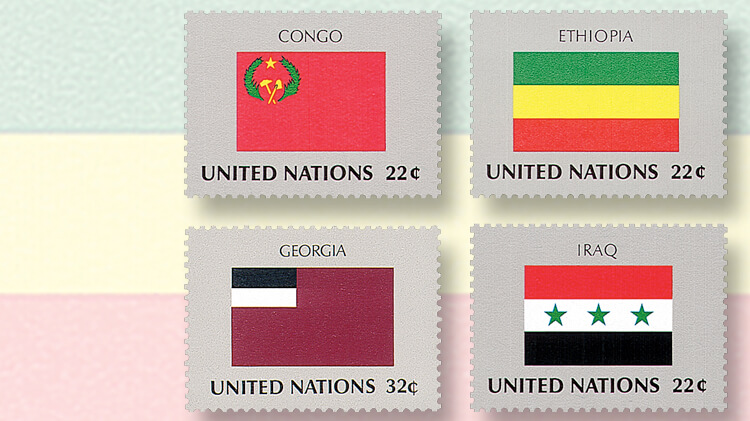 united-nations-flag-series-stamps