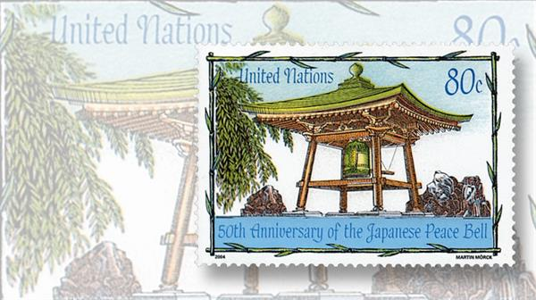 united-nations-japanese-peace-bell-stamp