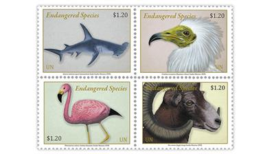 united-nations-new-york-2020-endangered-species-stamps