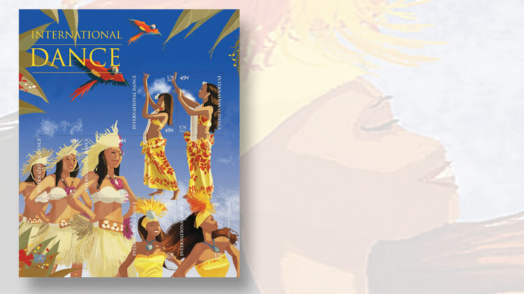 united-nations-polynesian-dance-stamp