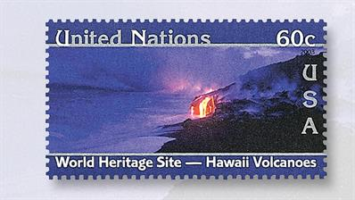 united-nations-stamp-hawaii-volcanoes-national-park