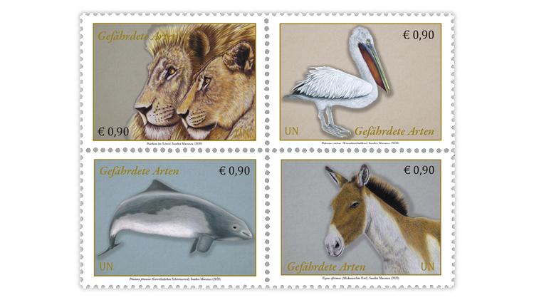 united-nations-vienna-austria-2020-endangered-species-stamps