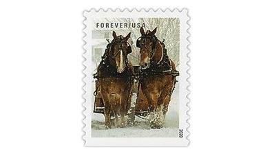 united-states--2021-winter-scenes-two-horses-stamp