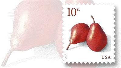 united-states-10-cent-red-pears-stamp