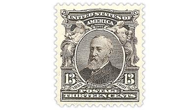 united-states-13-cent-benjamin-harrison-stamp
