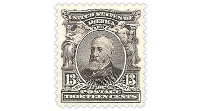 united-states-13-cent-benjamin-harrison-stamp