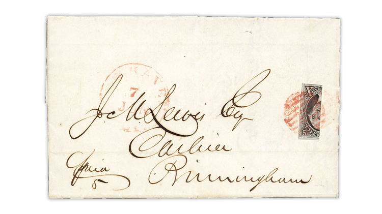 united-states-1847-washington-bisect-cover