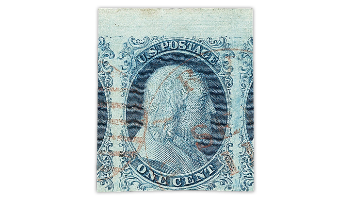 united-states-1851-benjamin-franklin-type-one-stamp