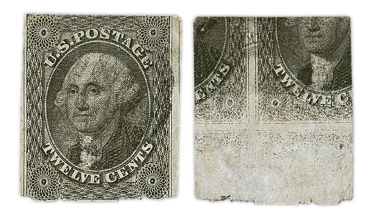 united-states-1851-washington-stamp-printed-both-sides