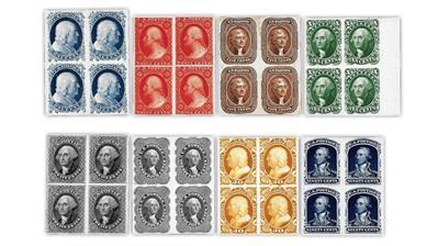 united-states-1857-1860-reprints-cardboard-proof-blocks