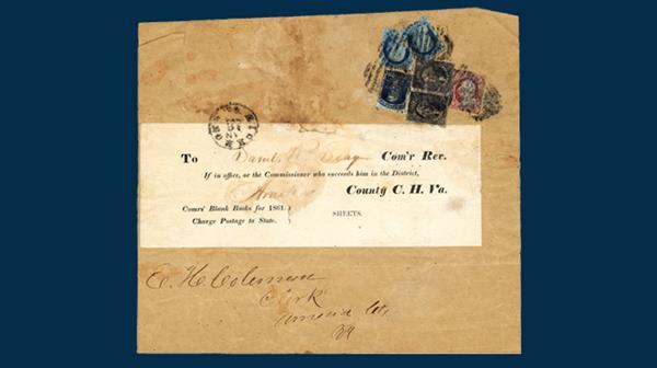 united-states-1860-90-cent-blue-george-washington-stamp