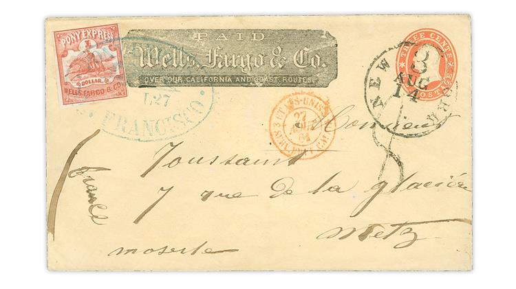 united-states-1861-pony-express-cover-metz-france