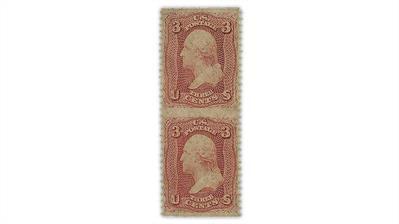 united-states-1861-washington-stamp-pair-imperforate-horizontally