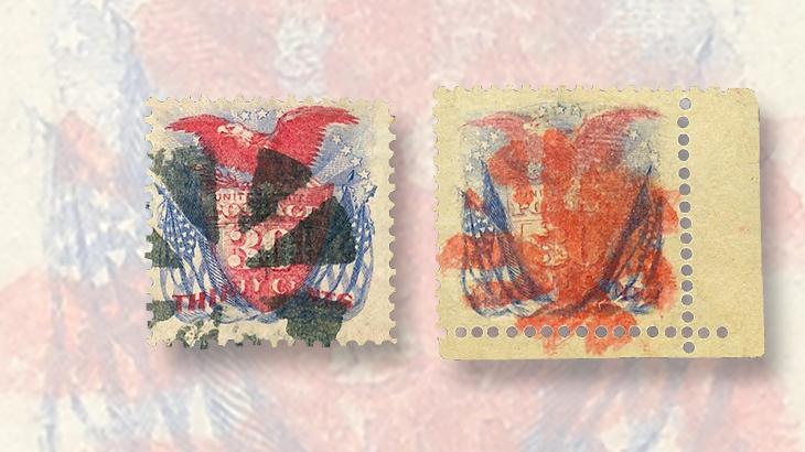 united-states-1869-eagle-shield-stamp-fake-perforations