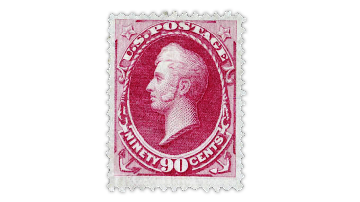 united-states-1870-oliver-hazard-perry-h-grill-stamp