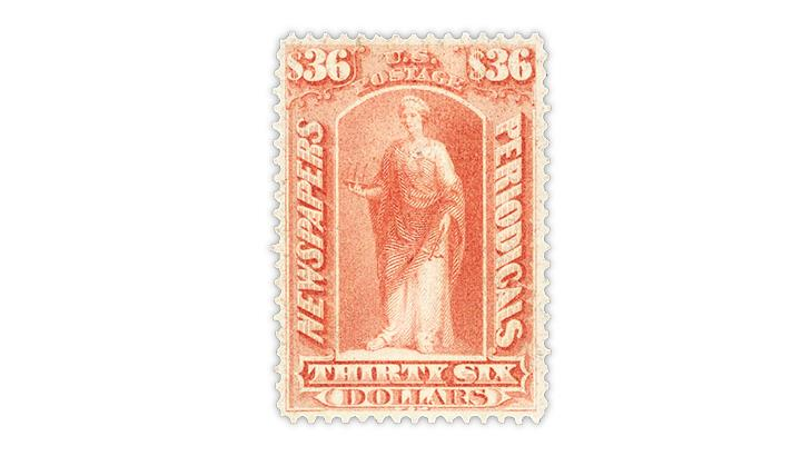 united-states-1875-brown-rose-newspaper-stamp