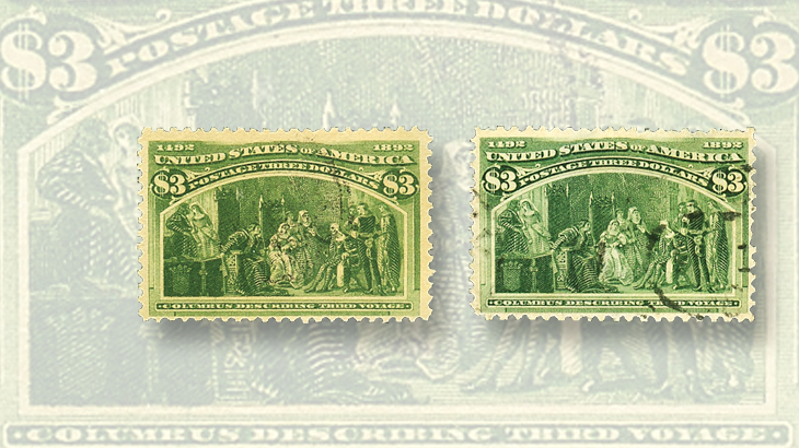 united-states-1893-columbian-fake-shaved-perforated-proof