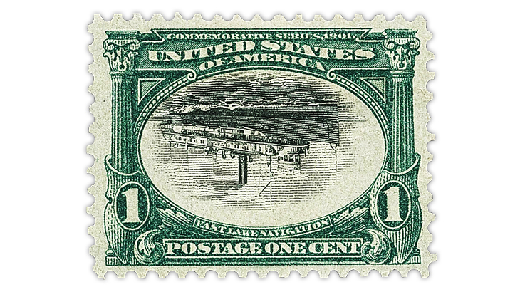 united-states-1901-one-cent-pan-american-invert-stamp