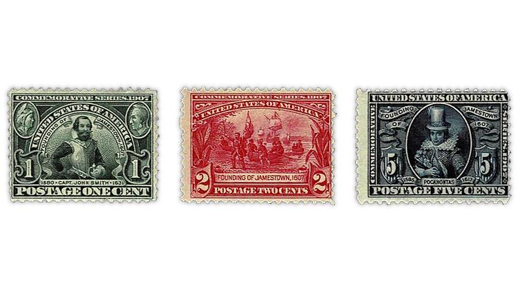united-states-1907-jamestown-exposition-stamps