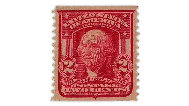 united-states-1908-carmine-george-washington-coil-stamp