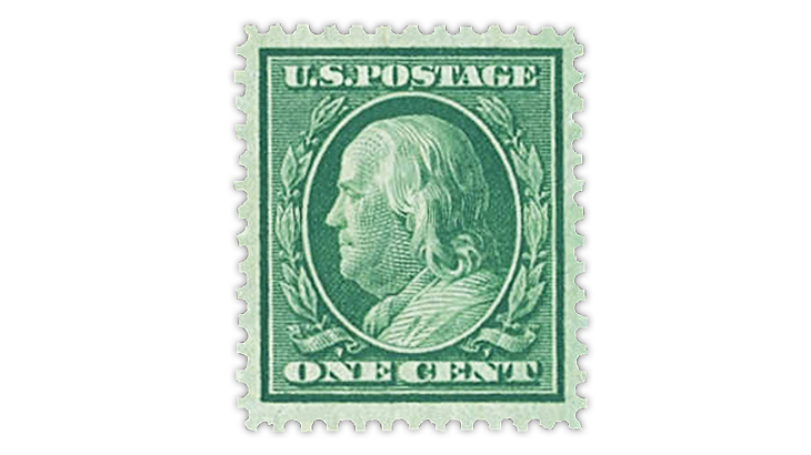 united-states-1909-benjamin-franklin-extra-fine-90-stamp