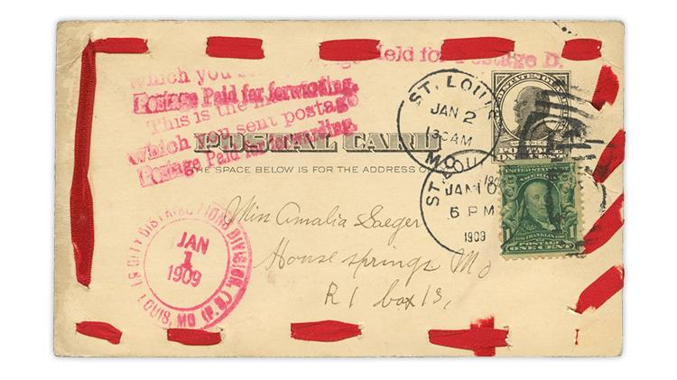 united-states-1909-penny-postal-card-new-years-ribbon