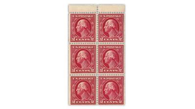 united-states-1912-george-washington-booklet-pane