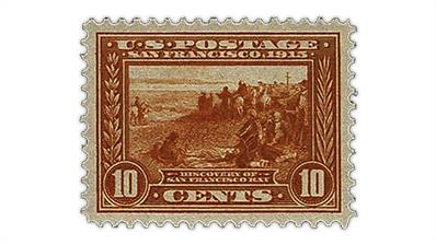 united-states-1913-discovery-san-francisco-grade-100-stamp