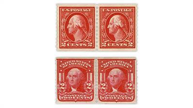 united-states-1914-george-washington-1908-washington-shield-fake-coil-pairs