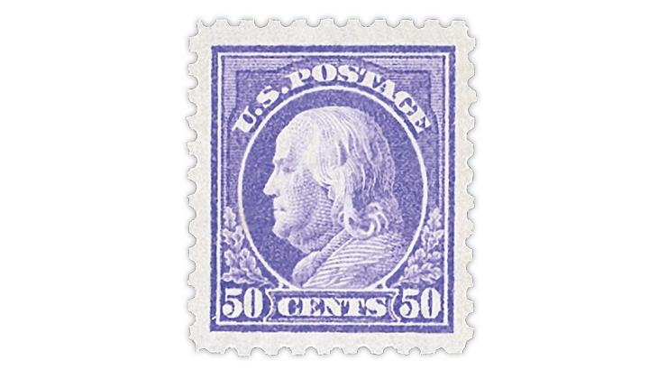 united-states-1915-50-cent-benjamin-franklin-stamp