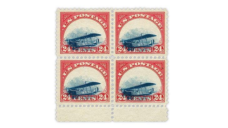 united-states-1918-curtiss-jenny-grounded-plane-block
