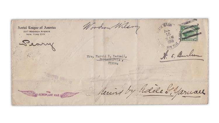 united-states-1918-first-flight-airmail-cover-forger-henry-woodhouse