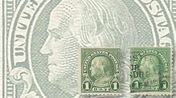 united-states-1923-benjamin-franklin-coil-waste-stamps-regency-superior-sale-aps-stampshow