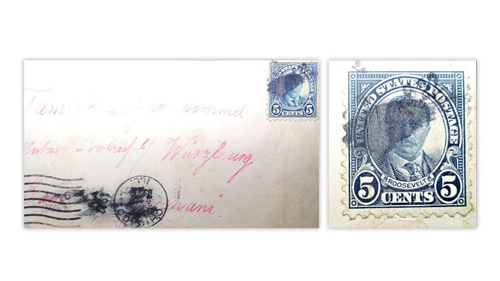 united-states-1924-theodore-roosevelt-perf-10-stamp-cover