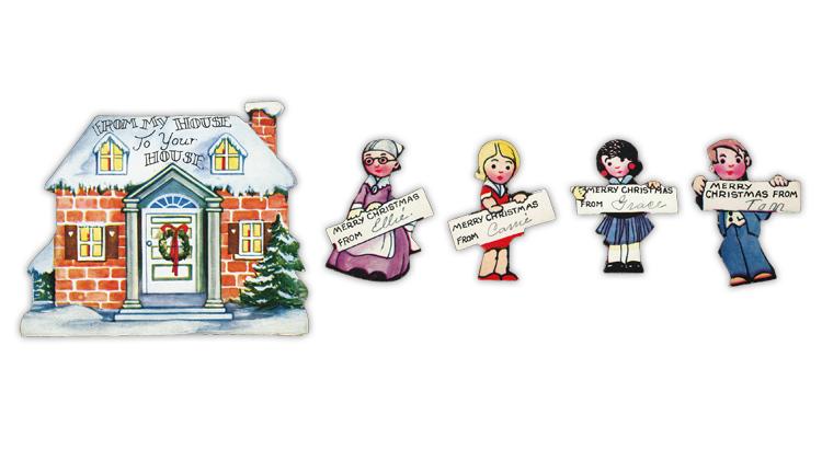 united-states-1930-christmas-card-cutouts
