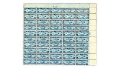 united-states-1930-graf-zeppelin-pane-of 50