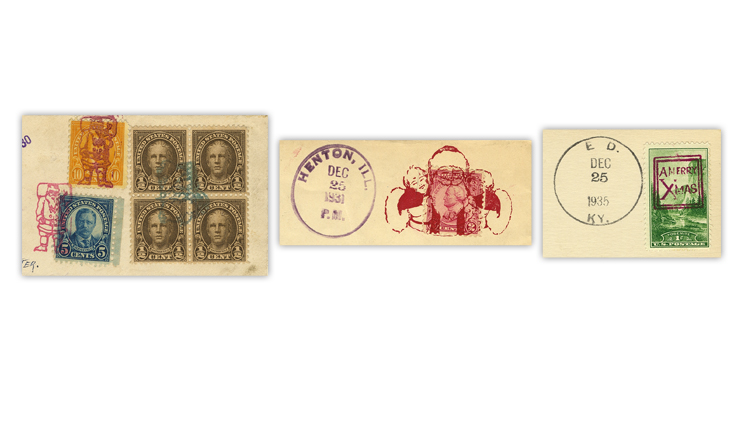 united-states-1930s-christmas-fancy-cancels